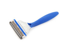 Blue Razor Blade Royalty Free Stock Photography