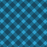 Blue realistic fabric pattern Royalty Free Stock Photography