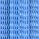 Blue realistic knit texture vector pattern.  Royalty Free Stock Photos