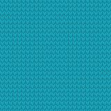 Blue realistic seamless knit pattern. EPS 10 vector. Blue realistic seamless knit pattern. And also includes EPS 10 vector Stock Image