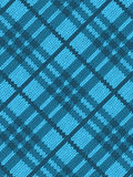 Blue realistic textile pattern Stock Images
