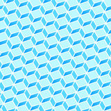 Blue Rectangle Pattern Stock Photos