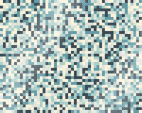 Blue rectangle pattern Royalty Free Stock Photo