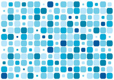 Blue rectangles. A lot of colors a sizes of blue rectangles Stock Photo