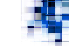 Blue rectangles background. Many rectangles for corporative business compositions Stock Photo