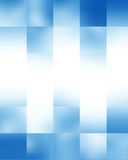 Blue rectangular background Stock Images