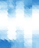 Blue rectangular background Stock Photos
