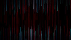 Blue red abstract lines technology futuristic video animation stock footage