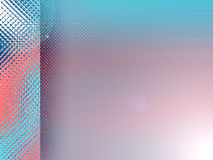 Blue and red background. A blue and red background with a dot patten royalty free illustration