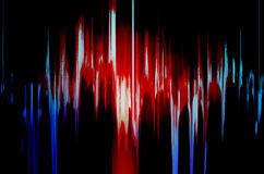 Blue and red  background Stock Photography
