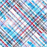 Blue red and black lines on a white background vector illustration Royalty Free Stock Photo
