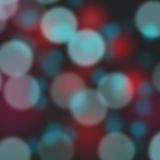 Blue and red bokeh abstract background Royalty Free Stock Image