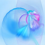 Blue red chaos rays. Blue red chaos flame rays on background Stock Photos