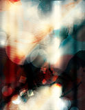 Blue and red detailed grunge background Royalty Free Stock Photos