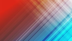 Blue and red diagonal stripes abstract video animation stock footage