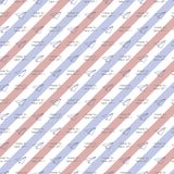 Blue red envelope pattern with airplane stock illustration