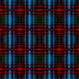 Blue and red grid pattern Royalty Free Stock Images