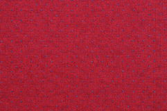 Blue and red knitted fabric texture Stock Photos