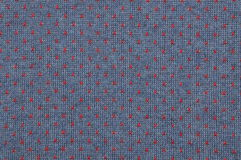 Blue and red knitted fabric texture Royalty Free Stock Photography