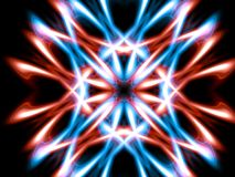 Blue red lighting royalty free stock photo