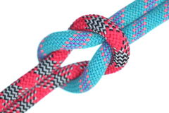 Blue and red rope Royalty Free Stock Photo
