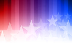 Blue and Red Star Background Royalty Free Stock Photos