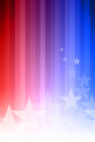 Blue and Red Star Background Royalty Free Stock Image