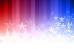 Blue and Red Star Background Stock Images