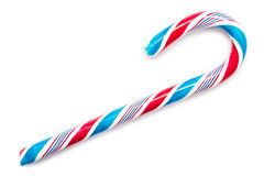 Blue And Red Sweet Candy Cane Royalty Free Stock Images