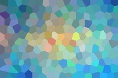 Blue, red and vanilla bright Middle size hexagon background illustration. Blue, red and vanilla bright Middle size hexagon background illustration stock illustration
