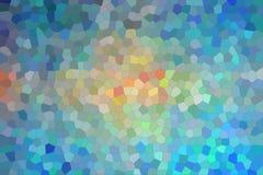Blue, red and vanilla bright Small Hexagon background illustration. Blue, red and vanilla bright Small Hexagon background illustration vector illustration