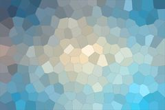 Blue, red and vanilla colorful Middle size hexagon background illustration. Blue, red and vanilla colorful Middle size hexagon background illustration vector illustration