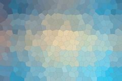 Blue, red and vanilla pastel colors Little hexagon background illustration. Blue, red and vanilla pastel colors Little hexagon background illustration royalty free illustration