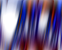 Blue red white lines in movement background stock photo