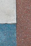 Blue - red - white small pebble texture or background for web site or mobile devices Stock Image