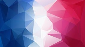 Free Blue-red-white Triangular Background Stock Image - 125843961