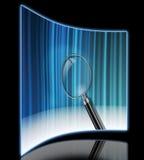 Blue reflection Stock Photos