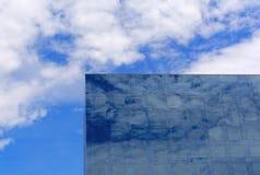 Blue reflection Royalty Free Stock Image