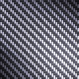 Blue reflective carbon fiber Stock Photo
