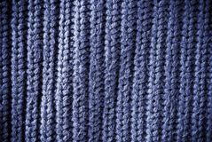 Blue regular striped and woven material background or texture Stock Photo