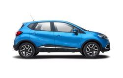 Blue Renault Capture Stock Photo