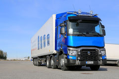 Blue Renault T460 Truck Royalty Free Stock Photography