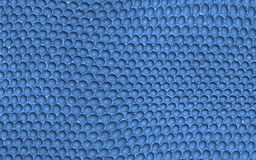 Blue reptile leather imitation texture Stock Photos