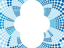 Blue retro background. Abstract background with blue tones Royalty Free Illustration