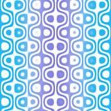 Blue Retro Pattern royalty free illustration