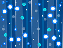 Blue retro style background Royalty Free Stock Photos