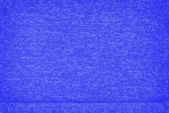 Blue retro woolen with seam background Stock Photography