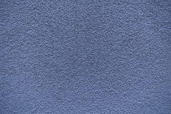 Blue revetment wall putty macro texture Stock Photos