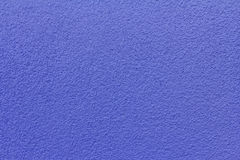 Blue revetment wall putty macro texture background Royalty Free Stock Image