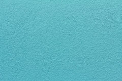Blue revetment wall putty macro texture background Royalty Free Stock Photo